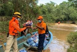 Defensa Civil asiste a población vulnerable durante Temporada Ciclónica 2020