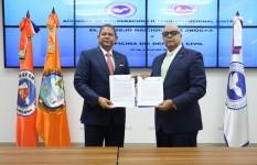 Defensa Civil y Consejo Nacional de Drogas firman acuerdo para...