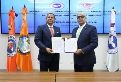 Defensa Civil y Consejo Nacional de Drogas firman acuerdo para promover la reducción del riesgo de desastres, y la prevención del consumo y uso de drogas y sustancias controladas
