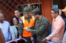 Defensa Civil inaugura nuevo local de oficina en la provincia Hato...