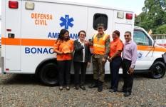 Defensa Civil entrega ambulancia a la Dirección Provincial en...