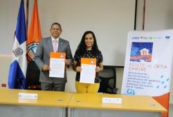 CNE y consorcio Ponte Alerta Caribe realizarán acciones en conjunto para reducir riesgos ante desastres