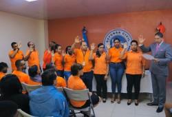 Defensa Civil juramenta nuevos miembros de la Comisión de Ética pública