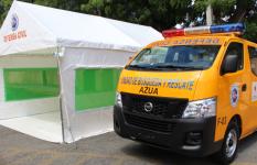 Entregan vehículo de rescate a Defensa Civil Azua