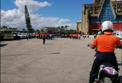 Defensa Civil lista para asistir durante Operativo de la Virgen de la Alatgracia