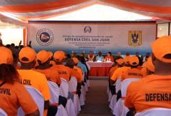 Defensa Civil entrega equipos, herramientas de rescate y remoza local de la oficina de la institución en san juan; organismos realizan operativo médico y odontológico