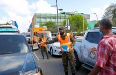 Defensa Civil realiza jornada de mitigación en todo el país, para...