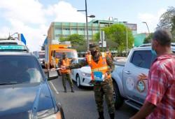 Defensa Civil realiza jornada de mitigación en todo el país, para reducir riesgo de contagio de COVID-19