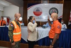 Juramentan nuevos Directores Provinciales de la Defensa Civil