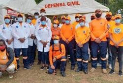 """Defensa Civil lista para asistir en 2da etapa del Operativo Navideño """"Compromiso por la Vida"""" 2020-2021"""